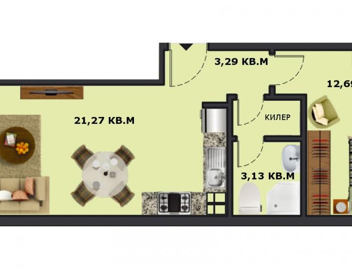 Вход А Етаж 4 Апартамент 13