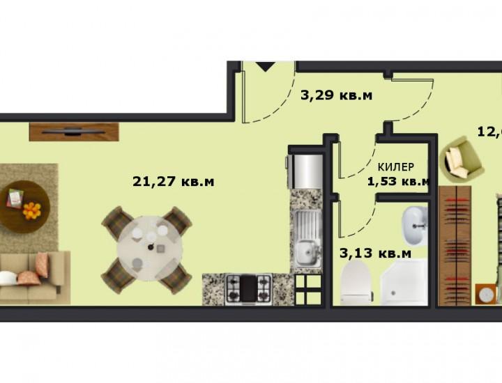 Вход А Етаж 5 Апартамент 17