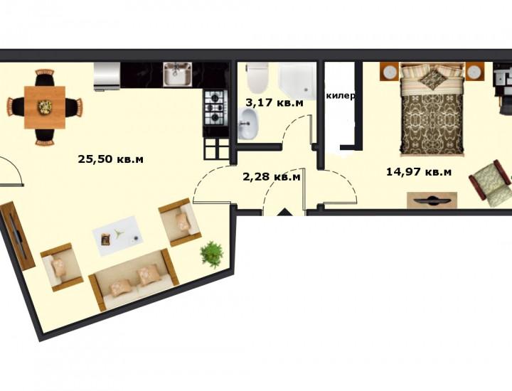 Вход Б Етаж 4 Апартамент 17