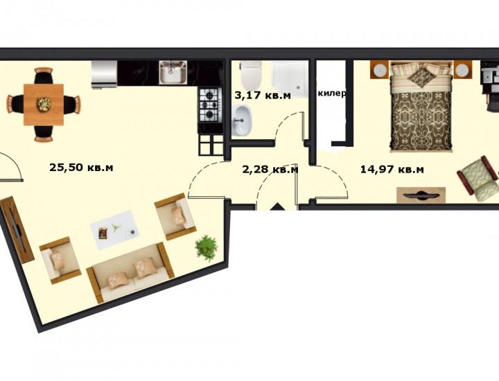 Вход Б Етаж 6 Апартамент 25