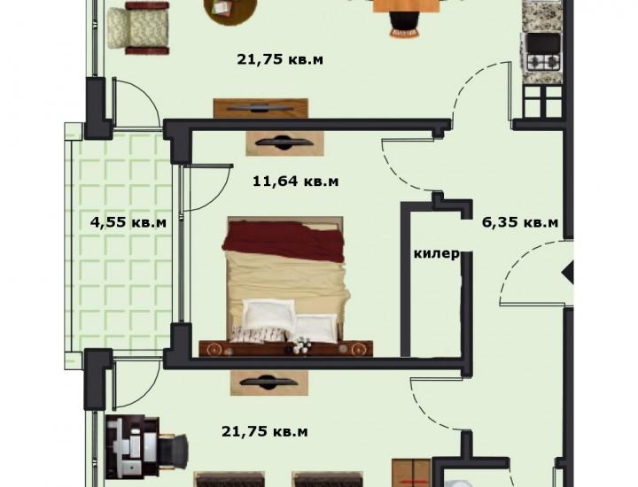 Вход В Етаж 4 Апартамент 15