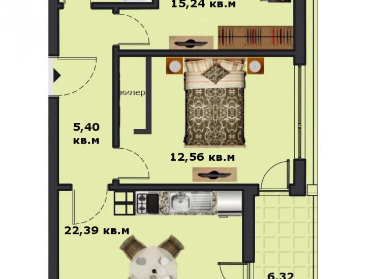Вход В Етаж 5 Апартамент 17