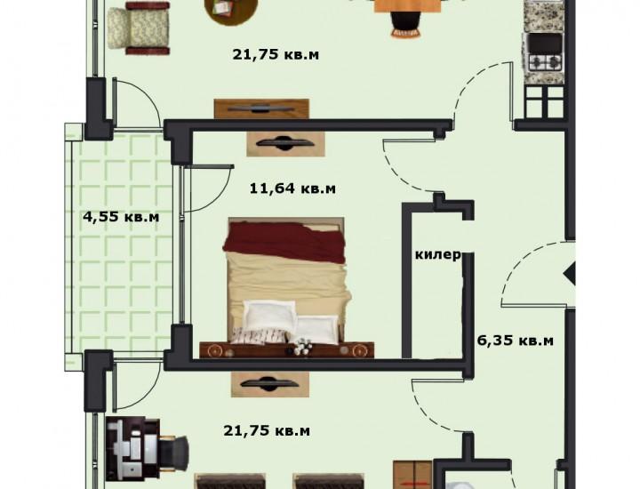Вход В Етаж 5 Апартамент 19