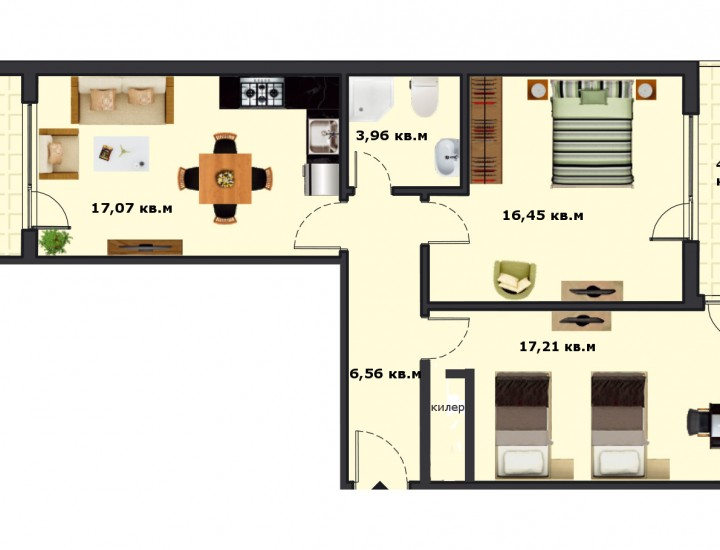 Вход В Етаж 5 Апартамент 20