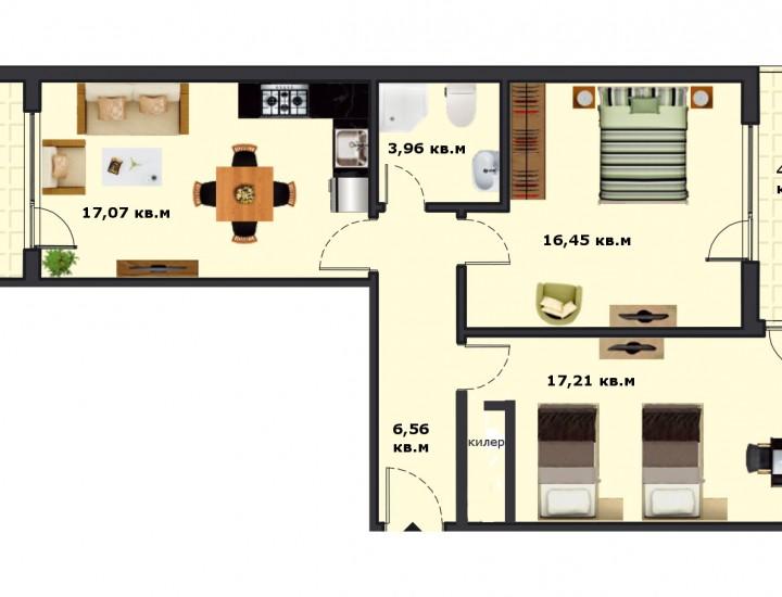 Вход В Етаж 6 Апартамент 24