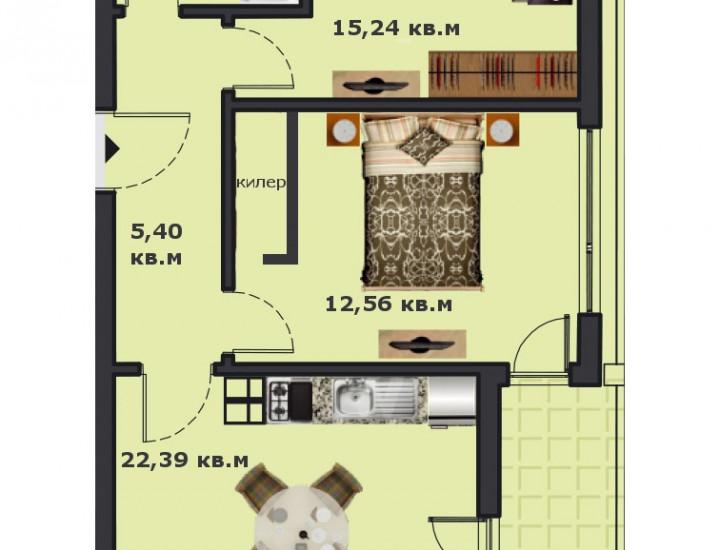 Вход В Етаж 3 Апартамент 9